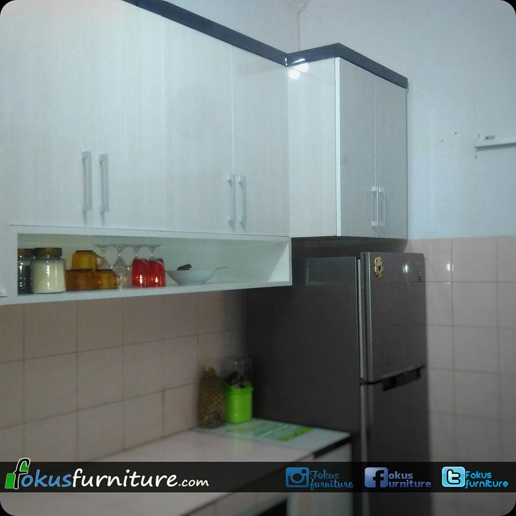 Kitchen set di Radar auri cimanggis. #fokusfurniture #Furn…   Flickr