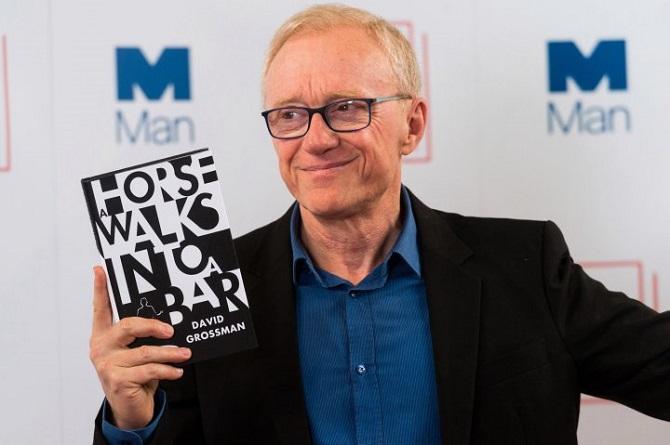 David Grossman, a 2017-es Nemzetközi Man Bookes-díjas, a díjnyertes regénnyel