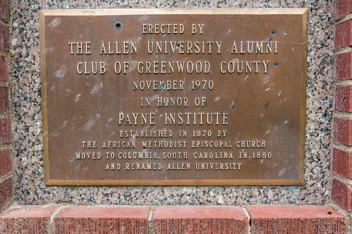 Payne Institute monument - 4