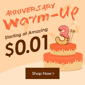 Zaful three-year anniversary