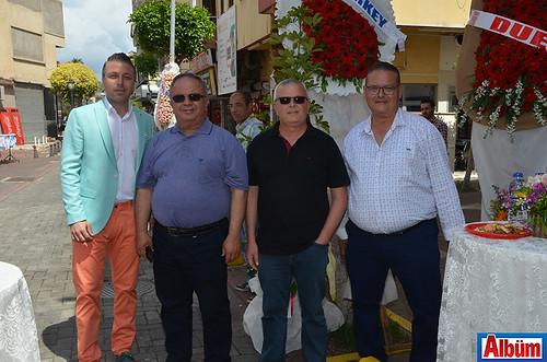 Mehmet Gedik, Süleyman Tok, Mehmet Emin Tavlı, Levent Algan