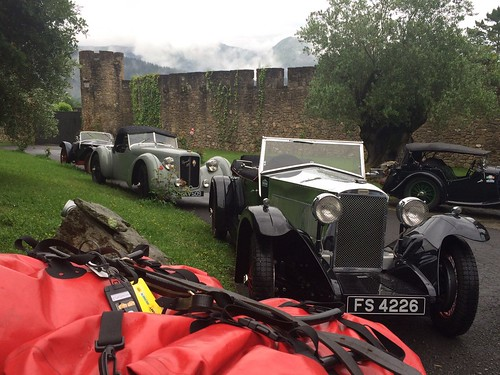 Via Iberica Pre War, salida del Pilgrim Rally desde Torre Loizaga