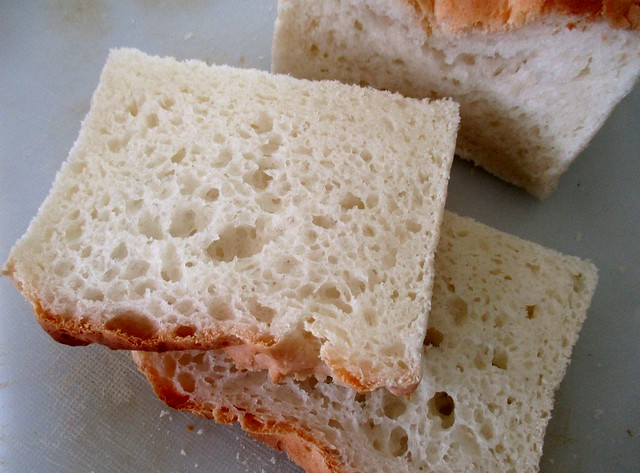 Gluten-free bread, sliced
