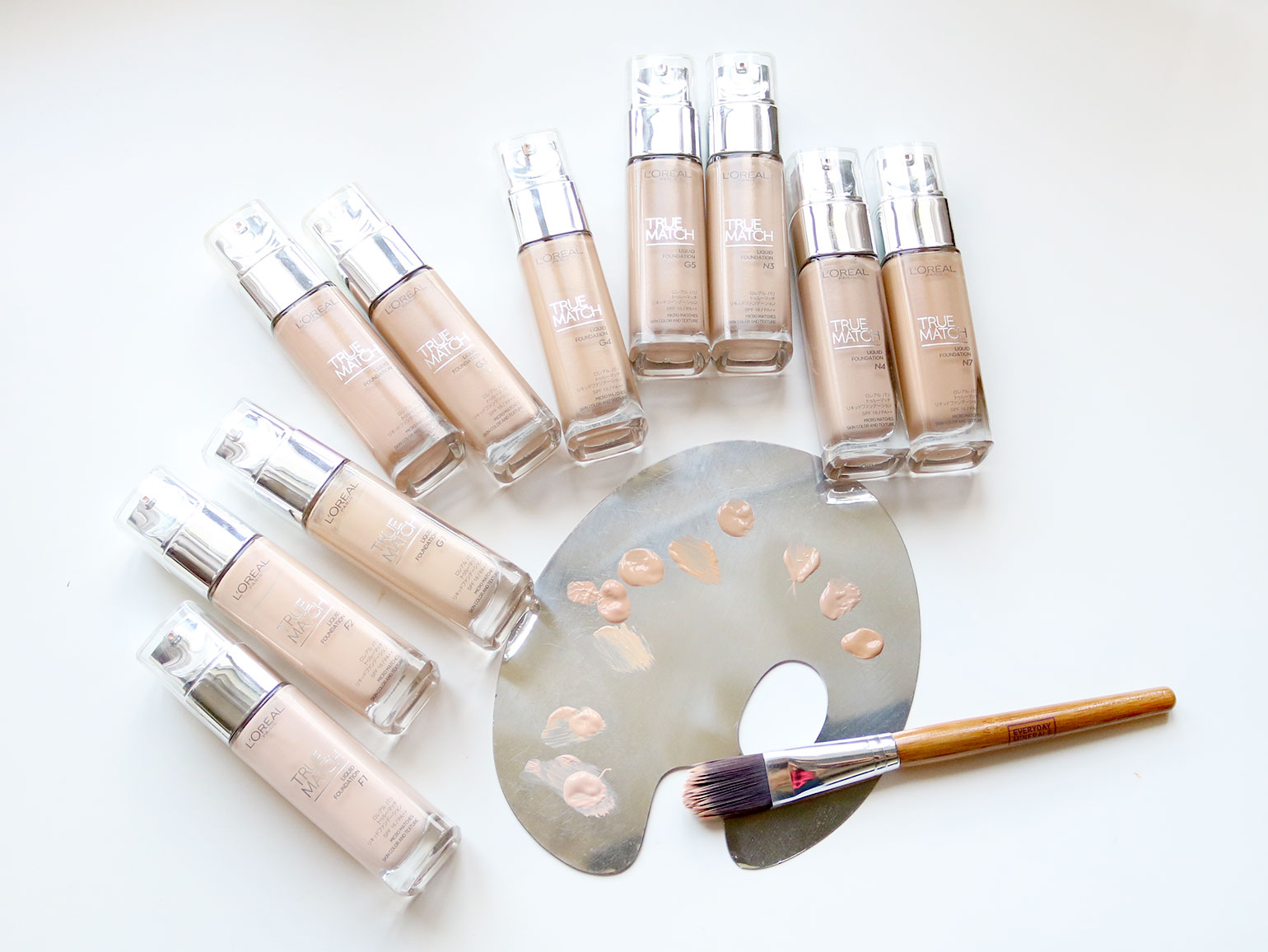 3 Loreal True Match Natural Finish Foundation Review and Swatches - She Sings Beauty by Gen-zel