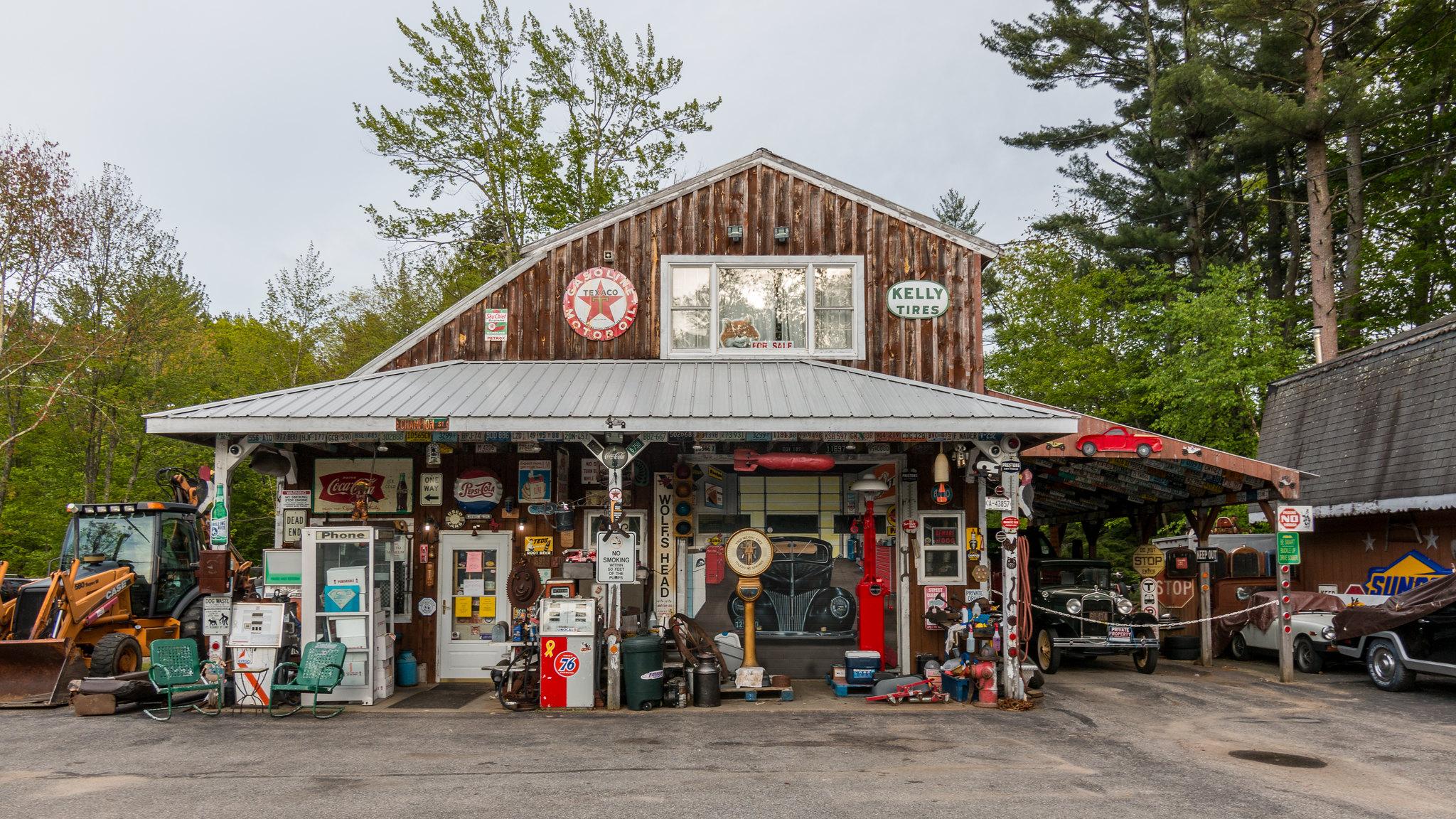 Vieux Garage - Maine - [USA]