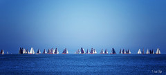 sailing in a row!