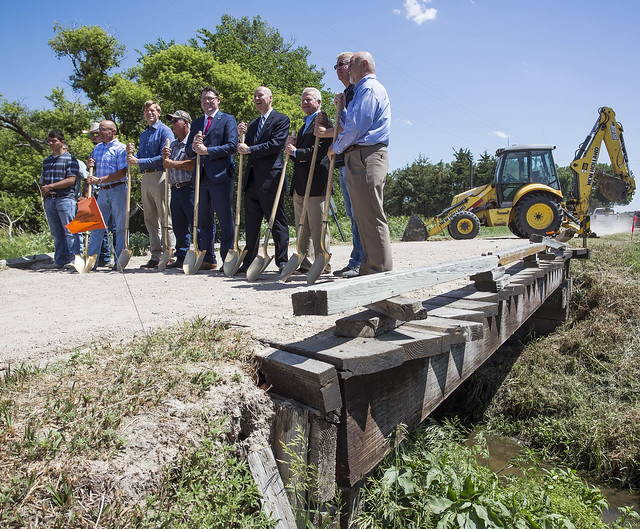 Gov. Ricketts Launches County Bridge  Match Program in Broken Bow