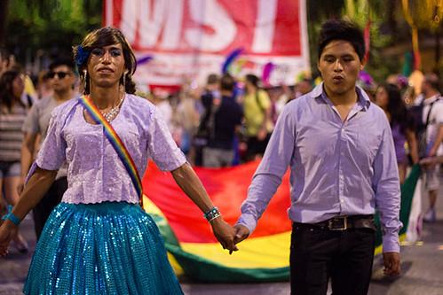 Marcha del Orgullo LGBTI. Bolivia