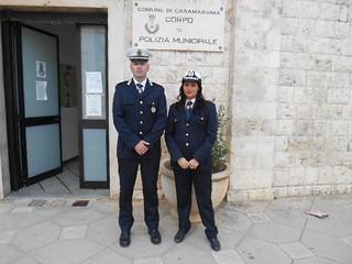 Agenti  Giacomo Albanese e Tina Girolamo