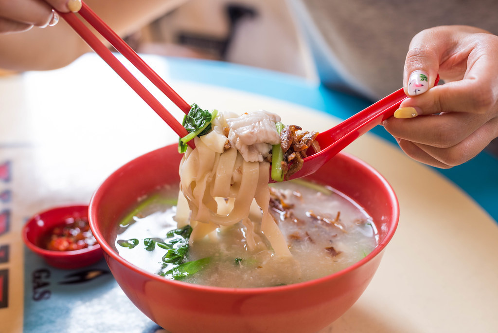 Ban Mian: L32 Geylang Banmian Soup