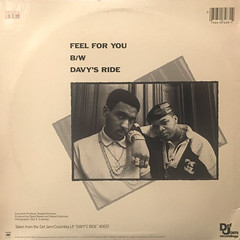 DAVY D:FEEL FOR YOU(JACKET B)