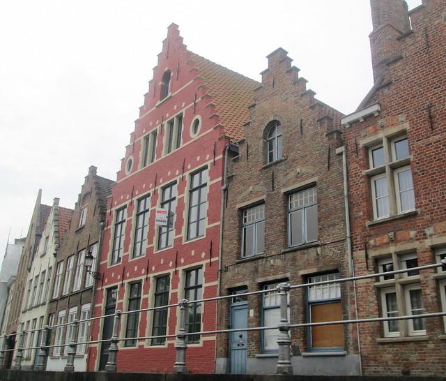 Flemish Style Buildings, Bruges