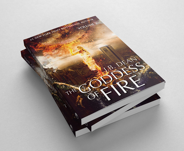 Fictional book: The Goddess of Fire...