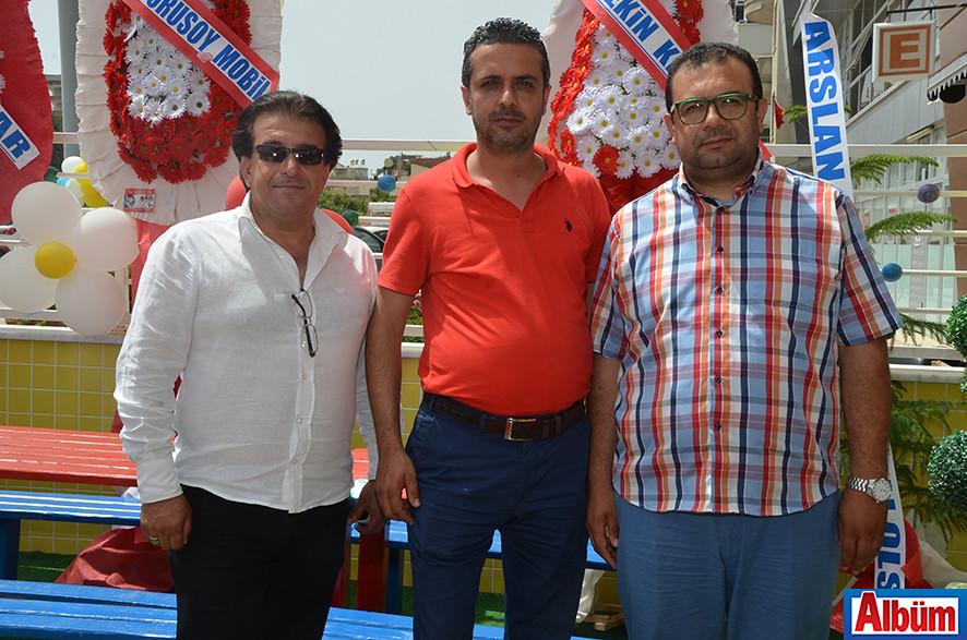 Haydar Yılmazoğlu, Barış Öztekin, Abdullah Kollama