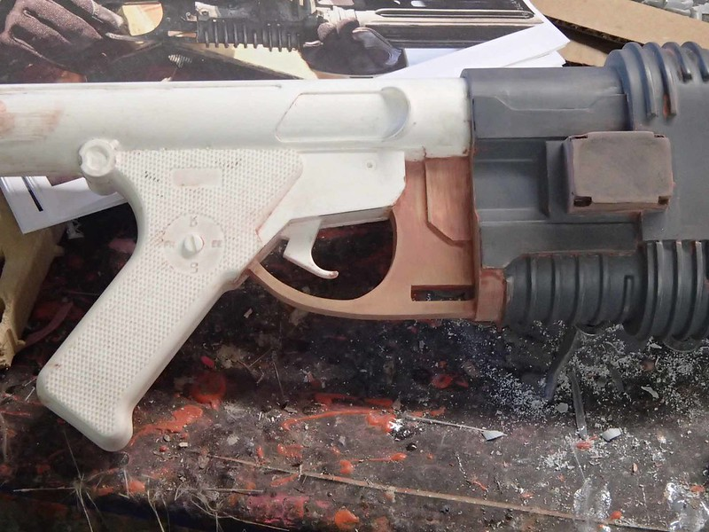 Trigger Guard Fitted and Faired