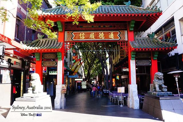 Day 1 - Sydney Chinatown
