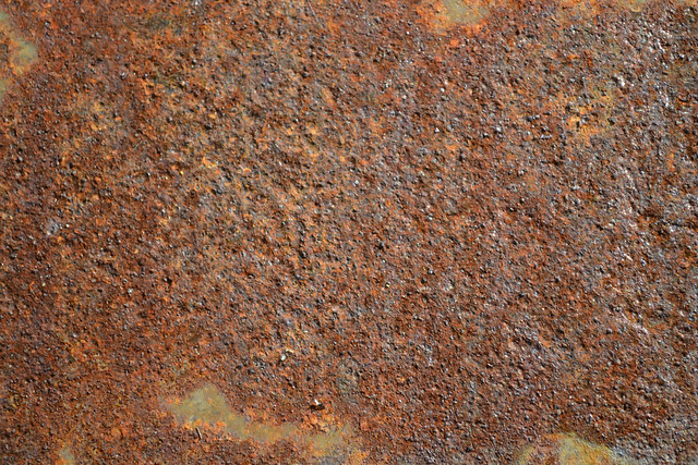 steel, background, brown, burned, burnt, color, copy, corroded, corrosion, decoration, Rust on the steel sheet