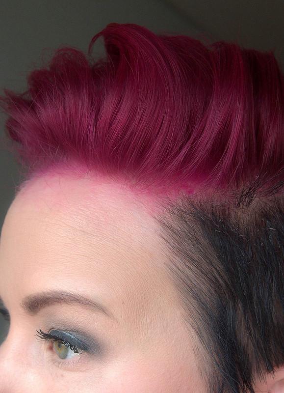 pink black hair