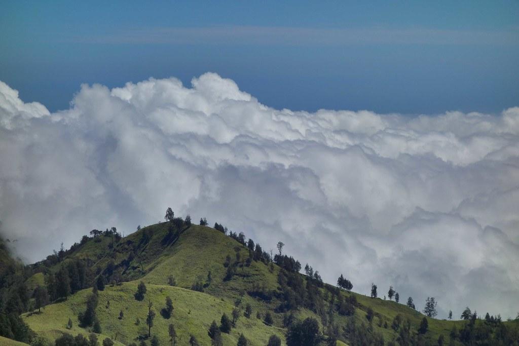 Rinjani - Jour 3 - Cratere Senaru View