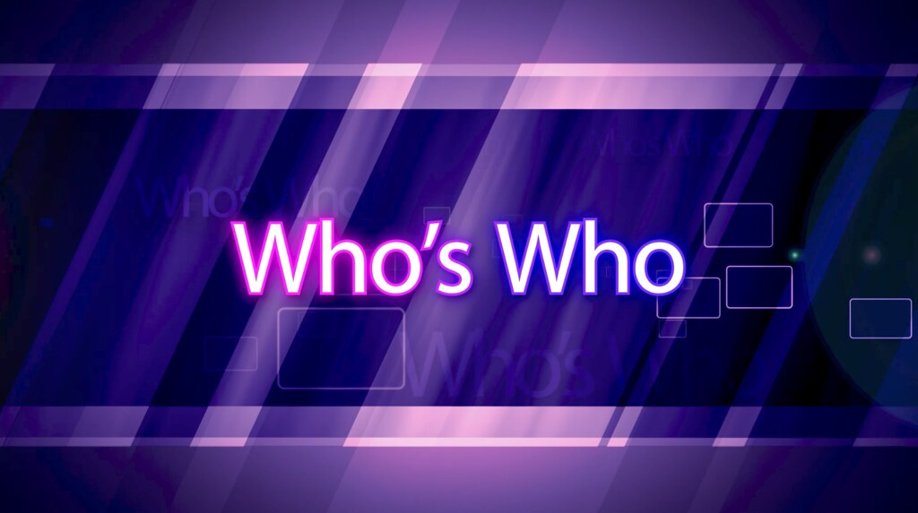 Who`s Who