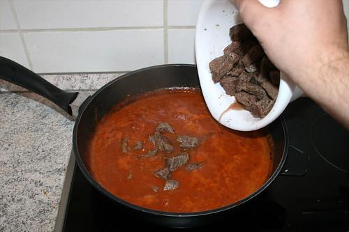 46 - Rindfleisch hinzufügen / Add beef