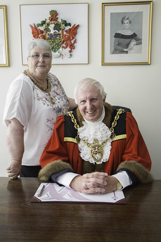 The Mayor for 2017/2018 is Councillor John Pritchard who is accompanied by his Mayoress Ann Pritchard