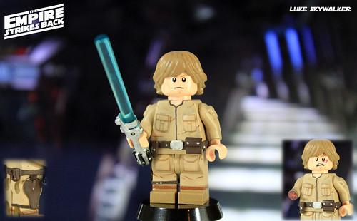 Custom LEGO Star Wars: The Empire Strikes Back | Luke Skyw… | Flickr