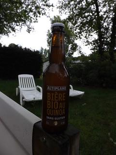 Britt, Altiplano Bière Bio au Quinoa sans gluten, France