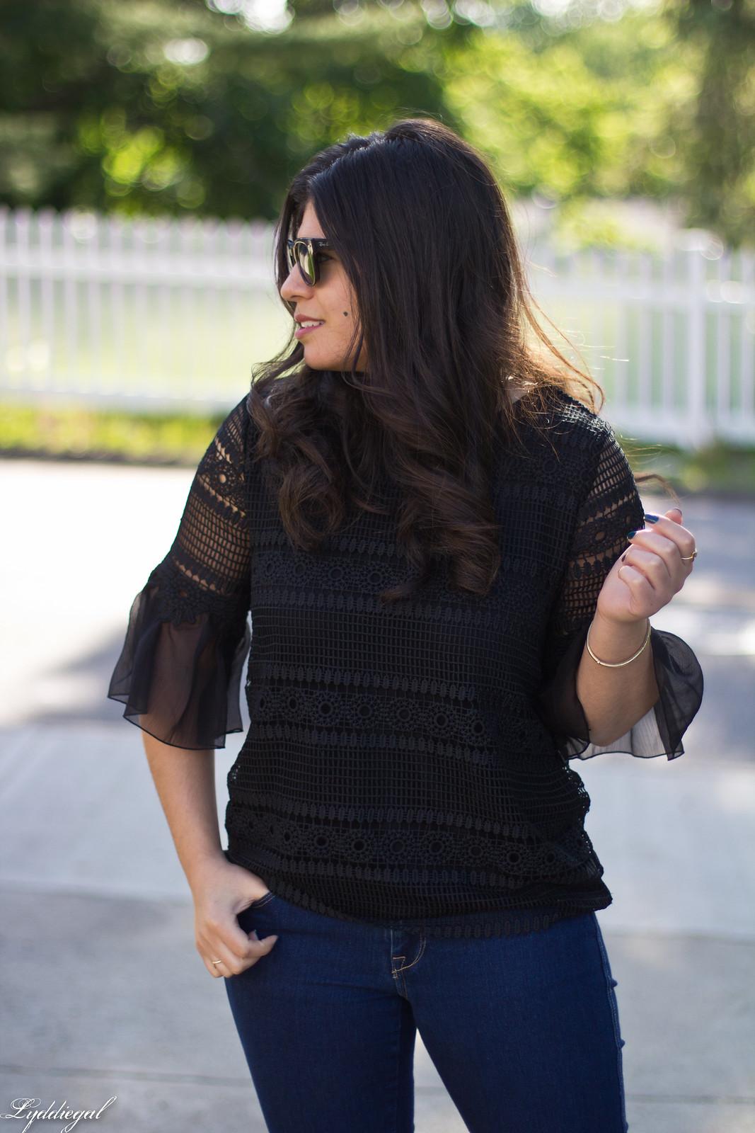 lace bell sleeve blouse, fringe hem jeans, bamboo bag-5.jpg