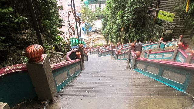 272段もある階段