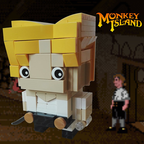 """My name is Guybrush Threepwood and I'm a mighty pirate!"" 