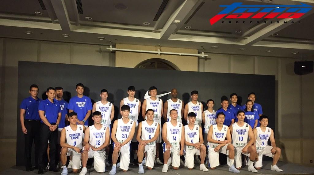 中華男籃代表隊。(資料照,倪芝蓉/攝)