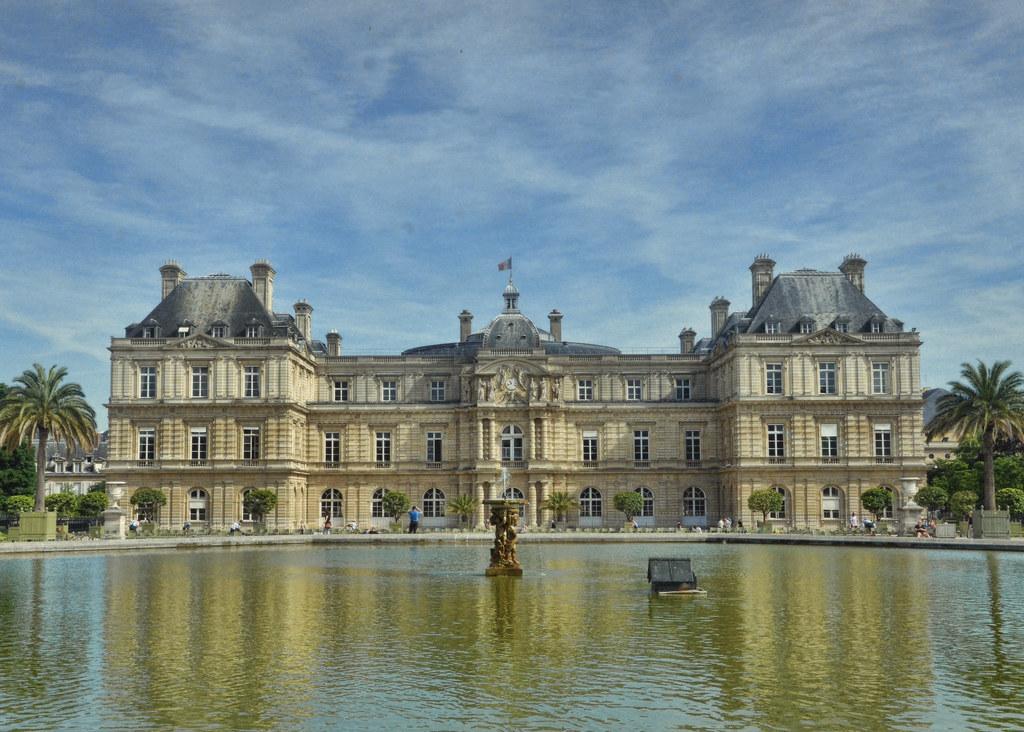 le jardin du luxembourg 6ieme arrondisment paris by sally e j hunter - Le Jardin Du Luxembourg