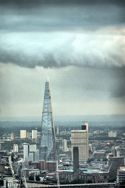 The Establishing Shot: FEAR THE WALKING DEAD LAUNCH – HDR VIEW LOOKING SOUTH OVER THE SHARD FROM TOP OF BT TOWER