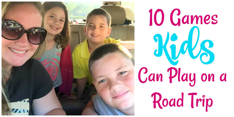 games for kids on a road trip