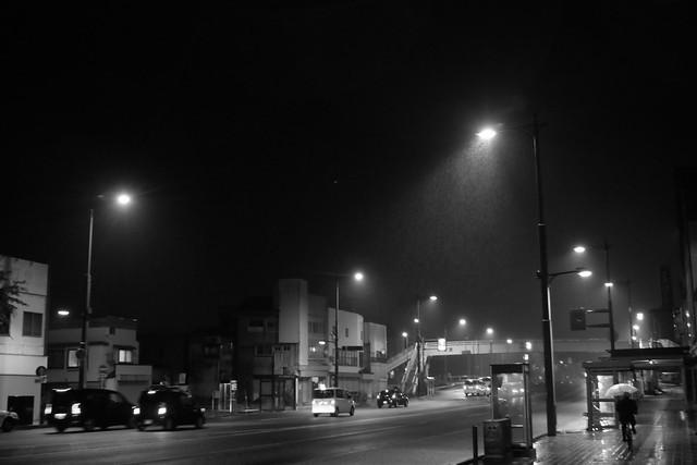 A rainy street