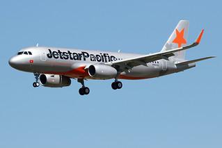 16 juin 2017 - JETSTAR  PACIFIC  AIRLINES - Airbus  A 320 SL   F-WWTU  msn 7725 - LFBO - TLS