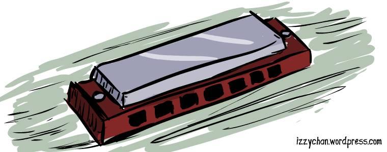 red harmonica