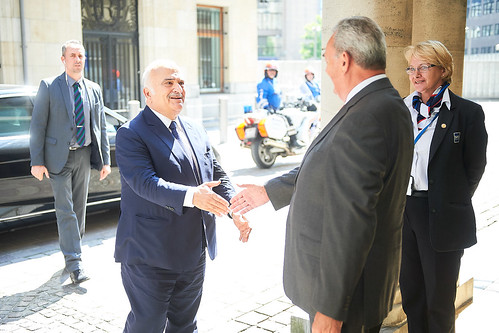 Refugee crisis - Conversation with HRH Prince El Hassan Bin Talal