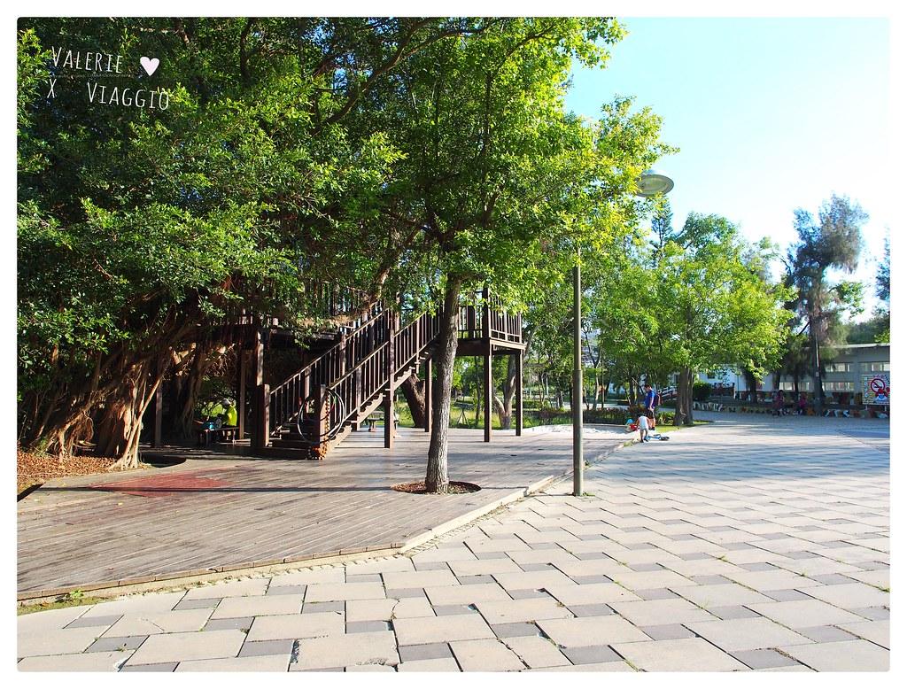 【高雄 Kaohsiung】漯底山自然公園觀景台 一覽彌陀濱海景色與台灣海峽 散步路線吊橋 月世界 泥火山 @薇樂莉 Love Viaggio | 旅行.生活.攝影