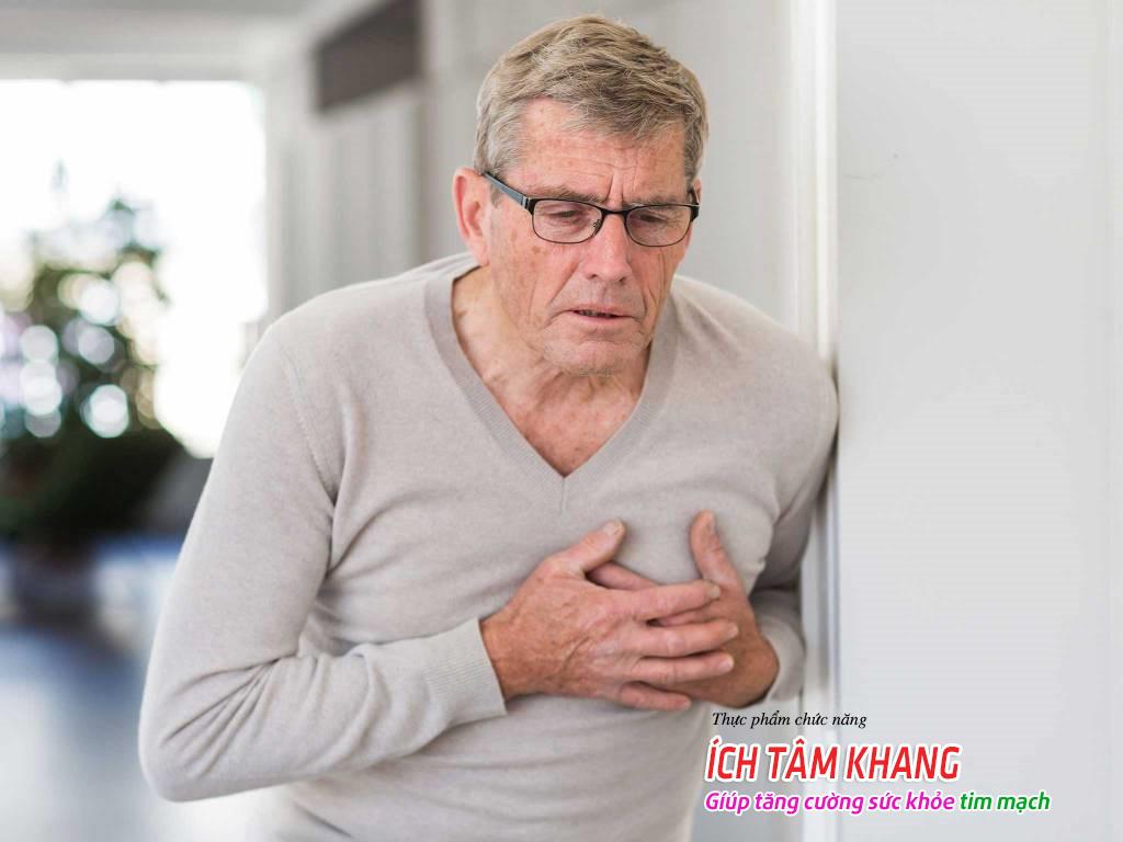 Nam giới mắc bệnh động mạch vành sau một thời gian dài có thể tiến triển thành bệnh suy tim