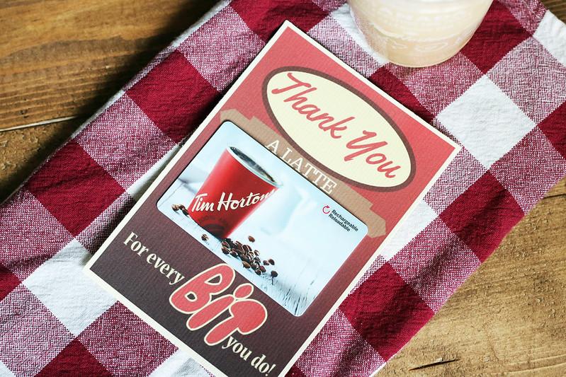 Tim Hortons Gift Card Holder