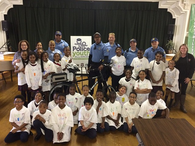 Police Youth Alliance - Holy Cross Reading Program 5/24/17