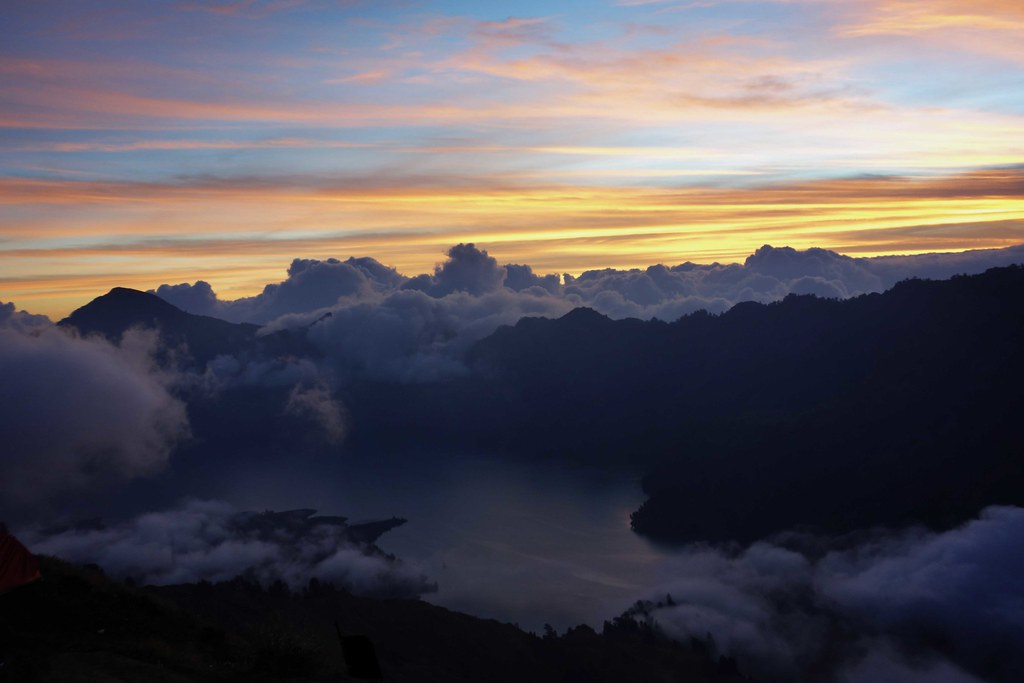 Rinjani - Jour 1 - Sunset 5
