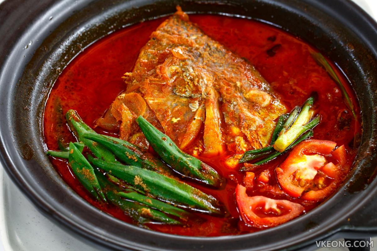 De Pauh Garden Fish Head Curry
