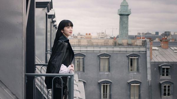 小松菜奈「シャネル2016ー17年 メティエダールコレクション パリ コスモポライト ショー」