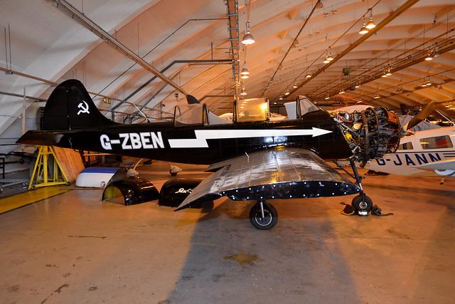 G-ZBEN Yakovlev Yak-52