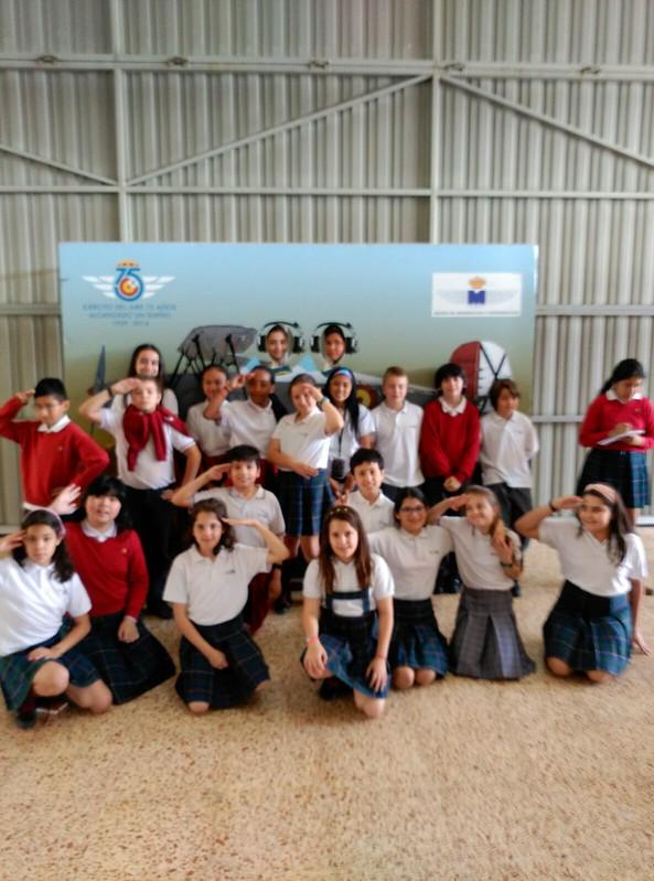 Primaria. Visita Museo de Aeronáutica