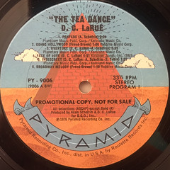 D.C. LARUE:THE TEA DANCE(LABEL SIDE-A)
