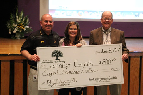 LVCF Honors Freedom High School Teacher Jennifer Cierech Theodora with a B.E.S.T Award